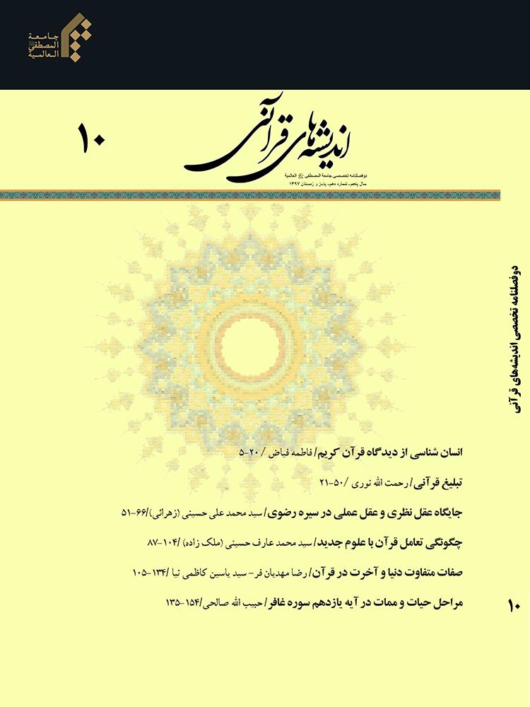 اندیشه های قرآنی